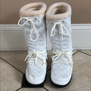 sports shoes new authentic get new Gucci Snow boots